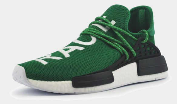 Adidas NMD Human Race Зеленые