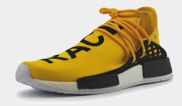 Adidas NMD Human Race Желтые
