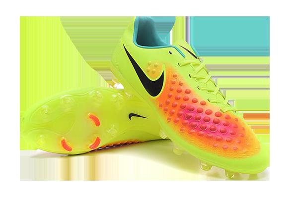 Nike Magista Orden II FG Желтые с Оранжевым