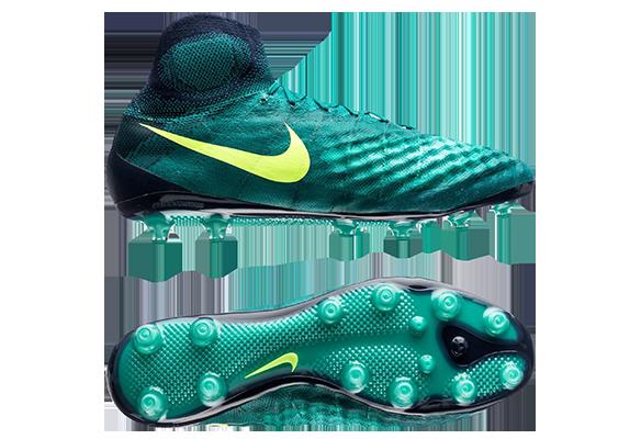 Nike Magista Orden II FG Зеленые