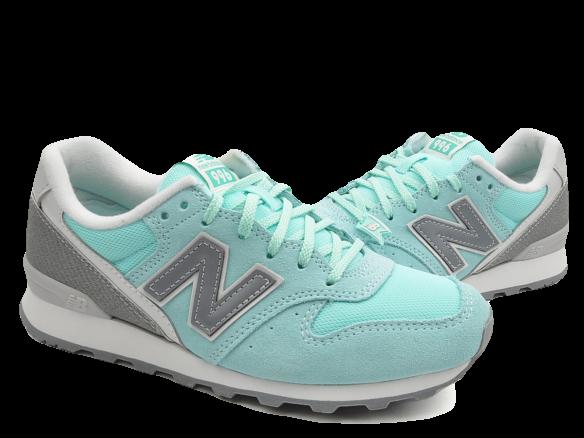 New Balance 996 Голубые с Серым