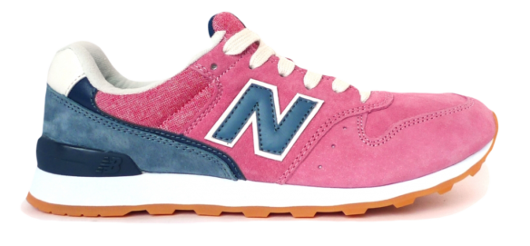 New Balance 996 Розовые с Синим