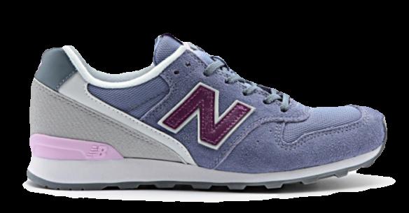 New Balance 996 Фиолетовые с Серым
