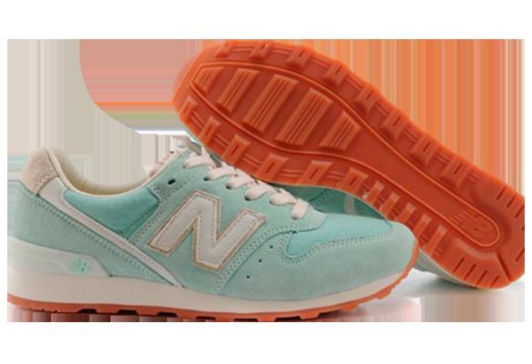 New Balance 996 Голубые Замша
