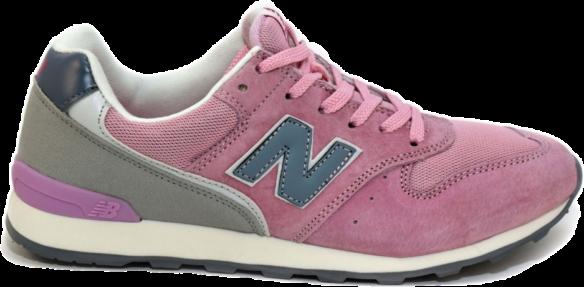 New Balance 996 Розовые с Серым