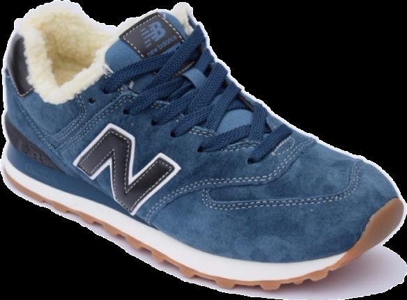New Balance 996 Зимние синие