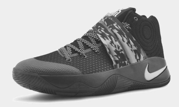 Nike Kyrie 2 черные с серым