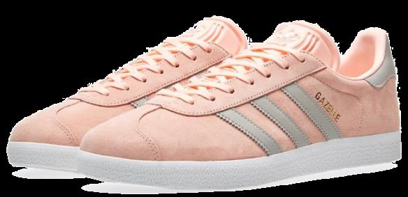 Adidas Gazelle W (Pink-Grey)