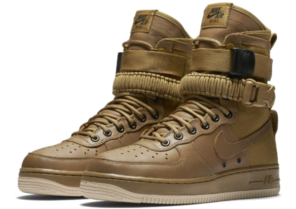 Nike SF AF1 Special Field Air Force 1 (Golden-Beige)