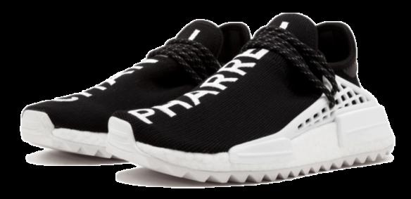 Adidas PW X CC HU NMD (Black-White)