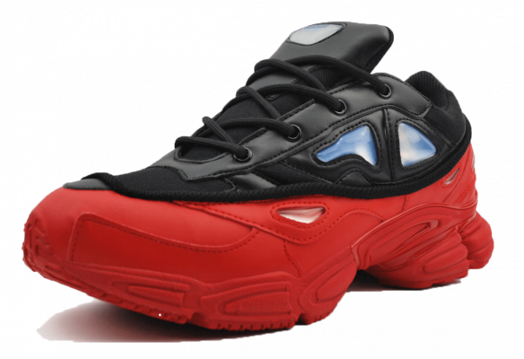 Adidas Raf Simons черно-красные