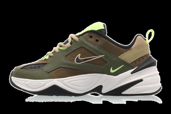 Nike WMNS M2k Tekno Medium OliveBlack