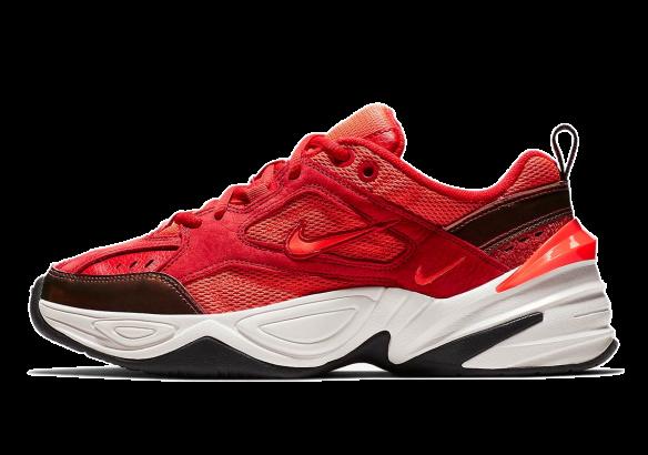 Nike M2k Tekno красные