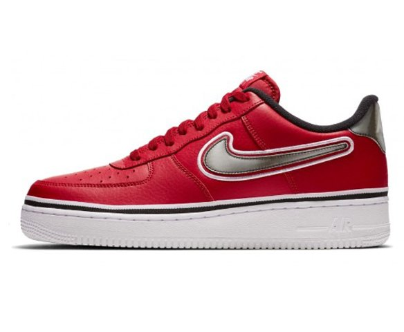 Nike air force 1 07 lv8 sport red
