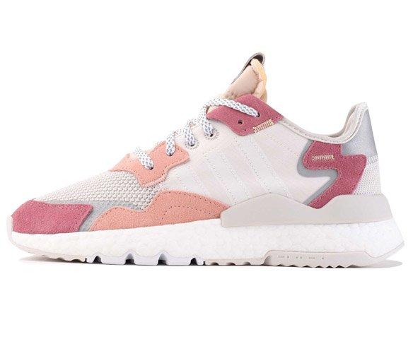 Adidas Nite Jogger white pink