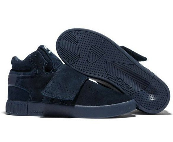 Осень-Зима Adidas Tubular Invader черные