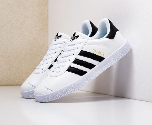 Adidas Gazelle OG белые