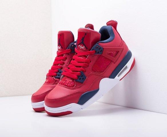 Nike Air Jordan 4 Retro red-blue