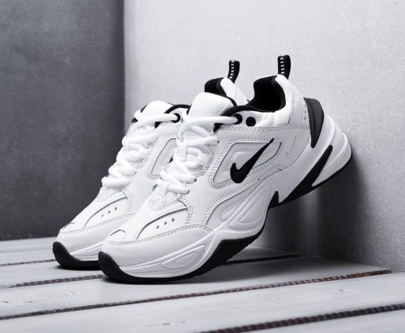 Nike M2K TEKNO белые с черным
