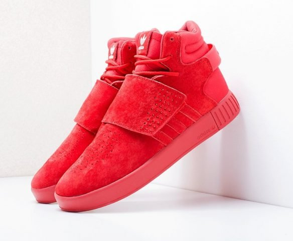 Adidas Tubular Invader Strap красные