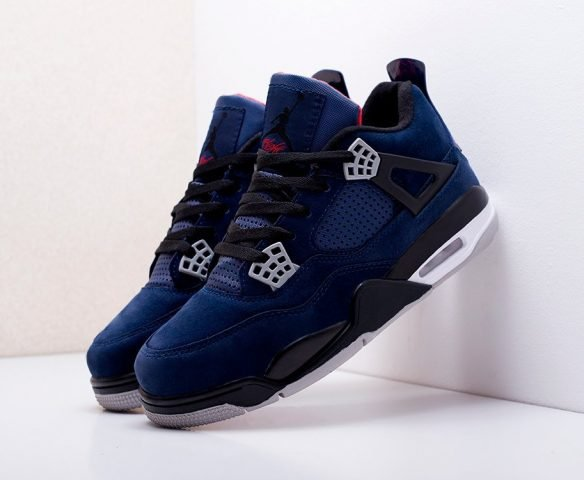 Nike Air Jordan 4 Retro dark blue