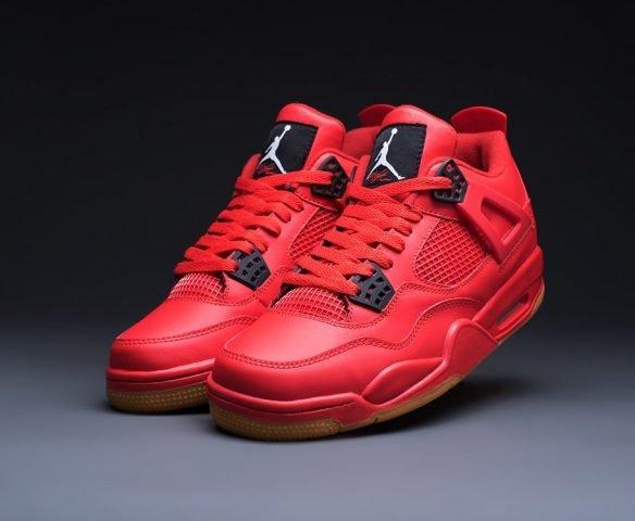 Nike Air Jordan 4 Retro red
