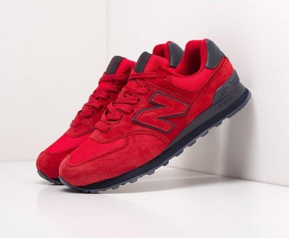 New Balance 574 красные