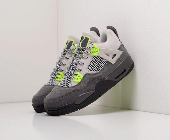 Nike Air Jordan 4 Retro grey-green