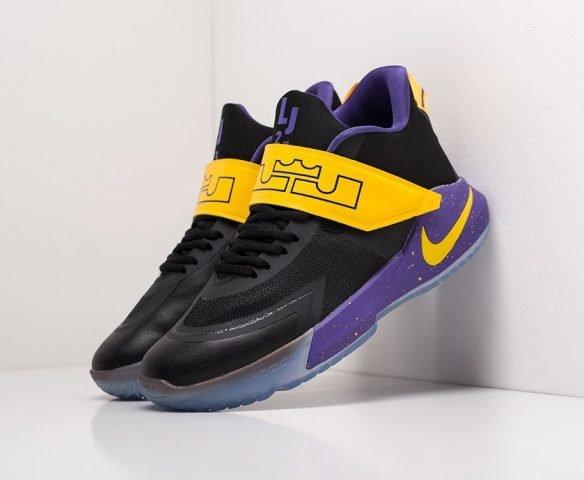 Nike LeBron Ambassador 12 black-yellow
