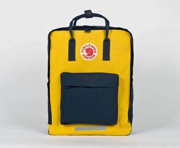 Рюкзак Fjallraven Kanken yellow-blue