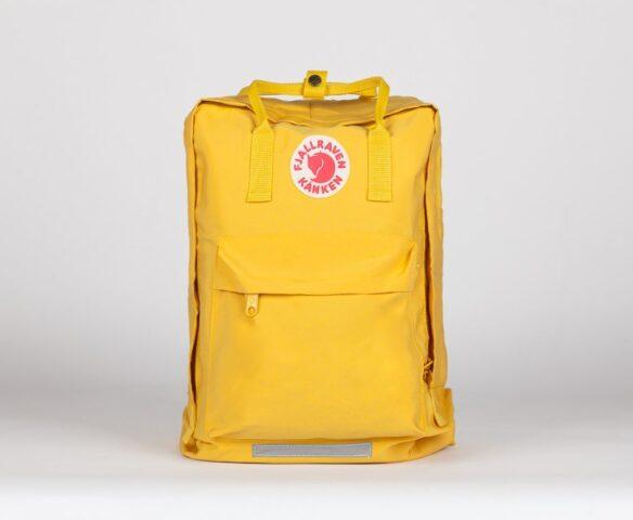 Рюкзак Fjallraven Kanken yellow