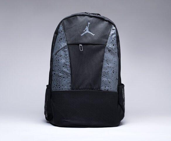 Рюкзак Nike Air Jordan черно-серый