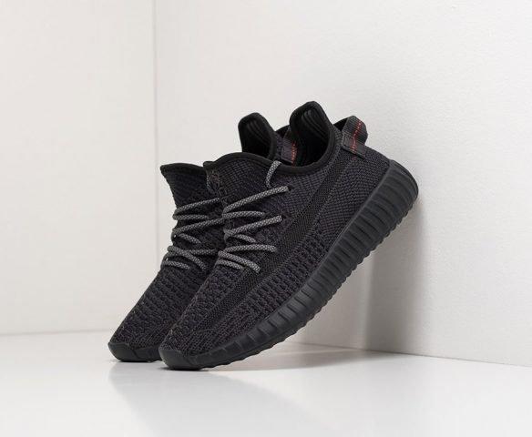 Adidas Yeezy 350 Boost v2 детские черные