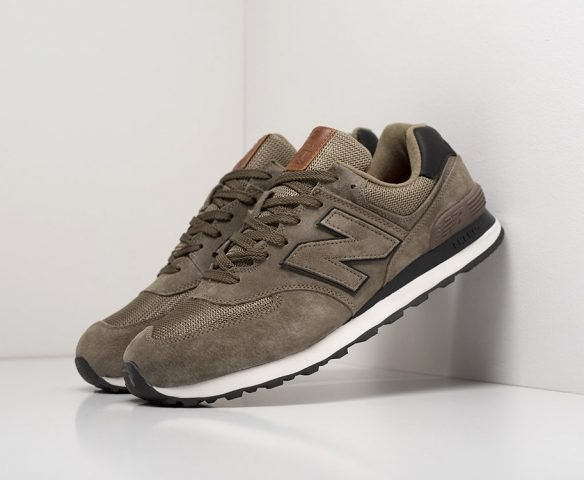 New Balance 574 коричневые