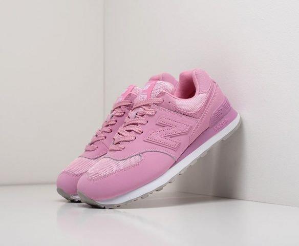 New Balance 574 wmn розовые