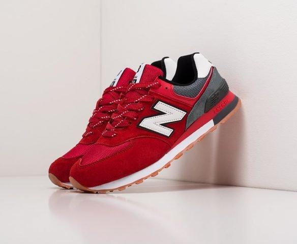 New Balance 574 wmn red