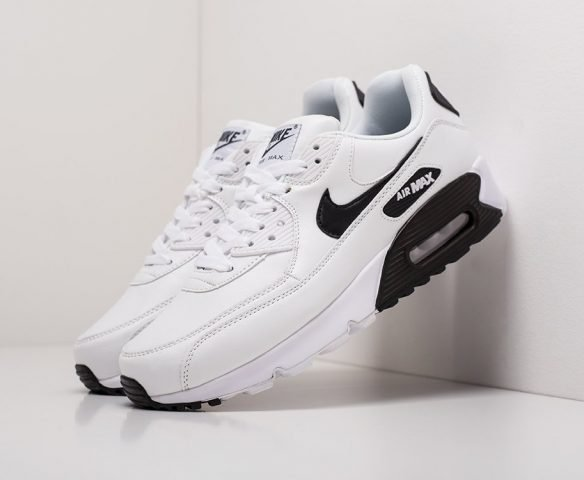 Nike Air Max 90 leather белые