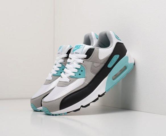 Nike Air Max 90 серо-белые