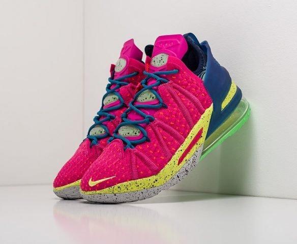 Nike Lebron XVIII розовые