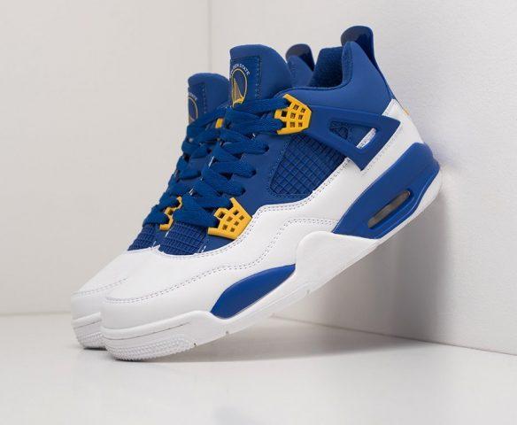 Nike Air Jordan 4 Retro mid blue-white