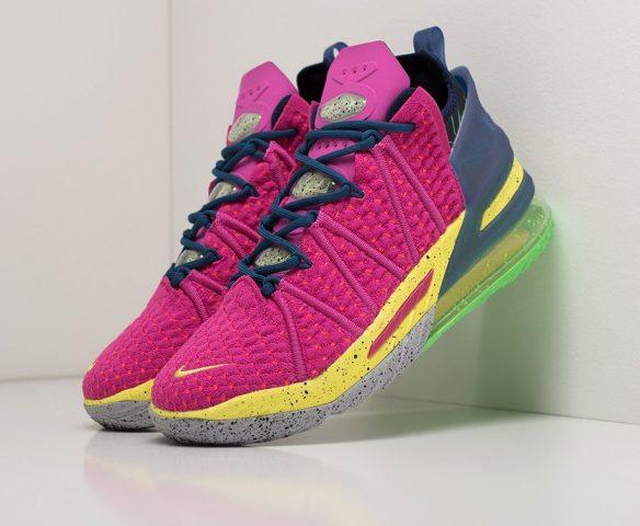 Nike Lebron XVIII pink