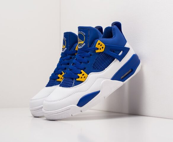 Nike Air Jordan 4 Retro синие
