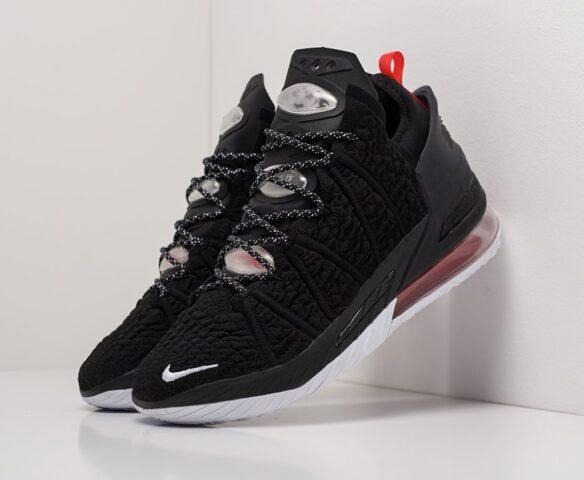 Nike Lebron XVIII черные man