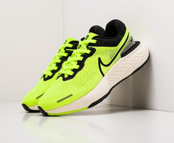 Nike ZoomX Invincible Run Flyknit зеленые
